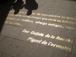 cita de Don Quijote