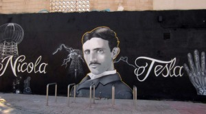 graffiti-tesla