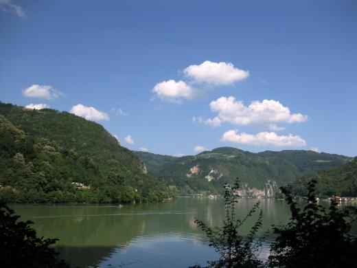 pogled na reku Drinu, okolina Zvornika