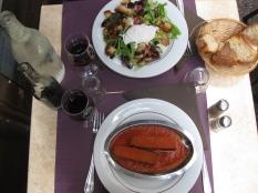 francuska hrana i vino