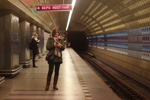 metro u pragu